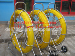 Yellow Duct Snake Non-Conductive Duct Rodders Fiber snake