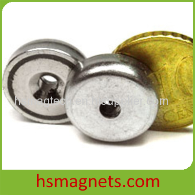 High Powerful Stainless Steel Countersunk N48 Neodymium Magnet