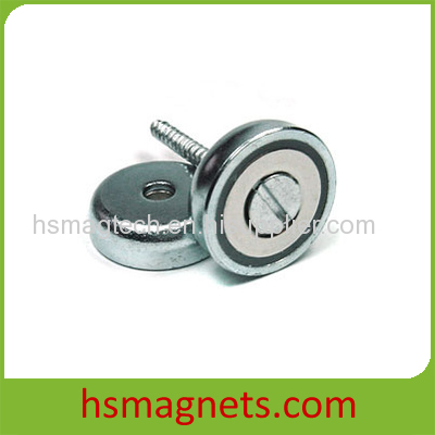 Super Strong N50 Neodymium Magnets With Countersunk Holes