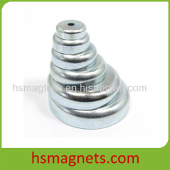 High Coercive Force NdFeB Countersunk Magnet