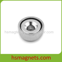 Strong Neodymium Pot Countersunk Magnets Wholesale