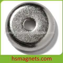 Sintered NdFeB Permanent Countersunk Pot Magnet