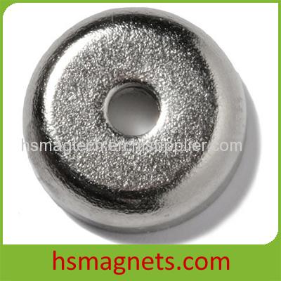 Sintered NdFeB Permanent Countersunk Pot Magnet