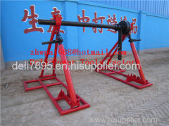 Made Of Steel Tripod Cable Drum Trestles