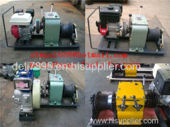 Cable bollard winch Cable Drum WinchCable pulling winch
