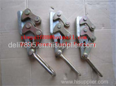 Wire rope grip Aluminum alloy cable clamp