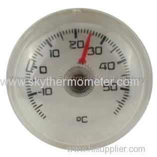 Plastic Bimetallic bath Thermometer