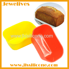 Mini rectangular silicone cake mold china