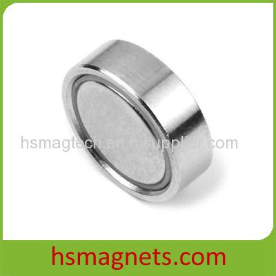 Round Base Pot Magnt Flat Holding Magnet