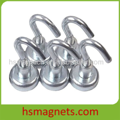 High Performance Neodymium Hook Pot Magnet