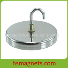 Large Hook Pot Cup NdFeB Magnet