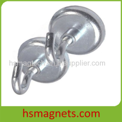 Strong Sintered Neodymium Hook Pot Magnet