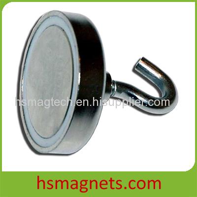 Sintered NdFeB Magnetic Hook Pot Magnet