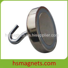 Strong Shallow Pot Magnetic Hook Magnet