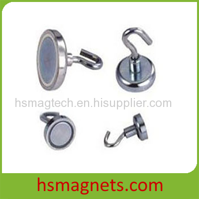 Rare Earth Shallow Pot Holding Magnet
