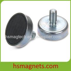 Threaded Ferrite Pot Magnet Magnetic Holders
