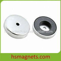 Hard Ring Ferrite Pot Magnet With Countersunk