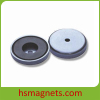 Anisotropic Sintered Permanent Ferrite Magnets With Countersunk Holes