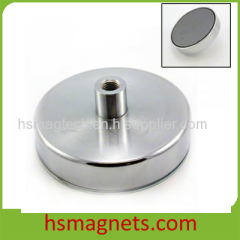 Ferrite Magnetic Assemblies Holding Magnet with Feamale Threaded
