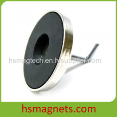 Ferrite Pot Magnets Magnetic Hook