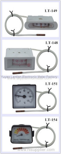 Glass Mercury thermometer industrial