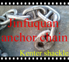 Kenter Shackle for marine anchor chain