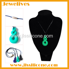silicone teething necklace wholesale china