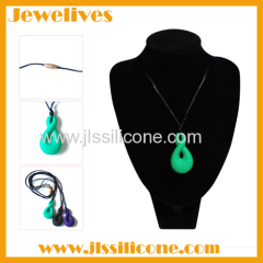 food grade silicone beads necklace