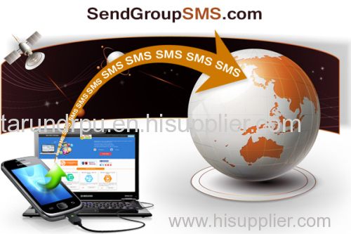 Bulk Messaging Software for GSM Mobile Phone