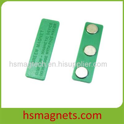 New Design Magnetic Name Badge With Enamel Logo Or Laser Logo