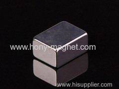 High quality permanent ndfeb pole magnet
