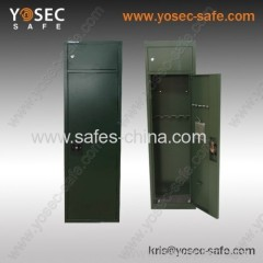 Economy key lock gun safe assemble with 5 gun rack(G-1500KD)