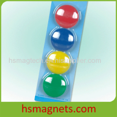 Magnetic Whiteboard Button Memo Holder