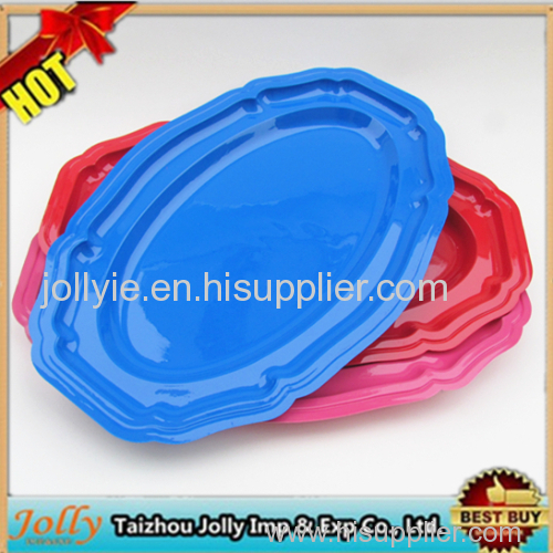 plastic food grade sala plates party