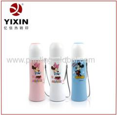 heat transfer vinyl for aluminum thermos flask /vacuum bottle