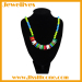 Party jewelry silicone beads necklace