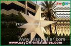 Custom Holiday Inflatable Lighting Decoration , Blow Up Stars