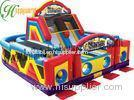 Commercial Inflatables Obstacle Course For Children Double Competition Game