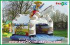 Children Inflatable Amusement Park Animal Shape Inflatable Combos / Jumping Castle