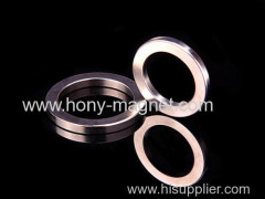 Permanent neodymium sintered ring magnet