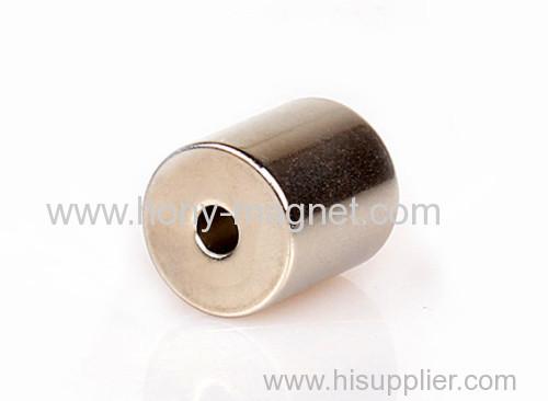 Ni coating magnet cylinder radial magnetization