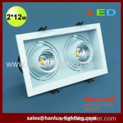 24W LED grille light