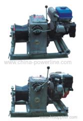 5 ton Petrol engine constant tension motorised winch