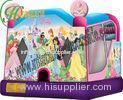 Two Pipes Princess Theme Inflatable Bouncy Castle For Rental business