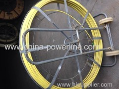 High strength fiberglass cable duct rodders