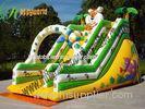 OEM Colorful Tiger Castle Commercial Inflatable Slide fire retardant