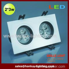6W SMD grille lights