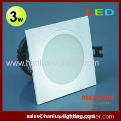 3W SMD grille lighting