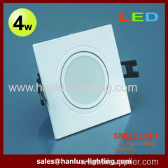 4W CE RoHS SMD grille lighting