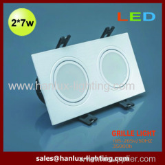 14W CE RoHS SMD grille lighting
